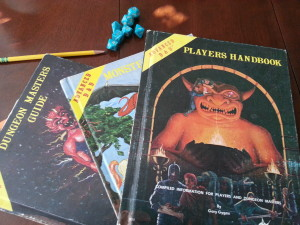 My first gaming books